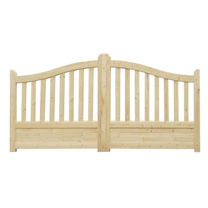 portail bois achat vente portail bois pas cher soldes d s le 10 janvier cdiscount. Black Bedroom Furniture Sets. Home Design Ideas
