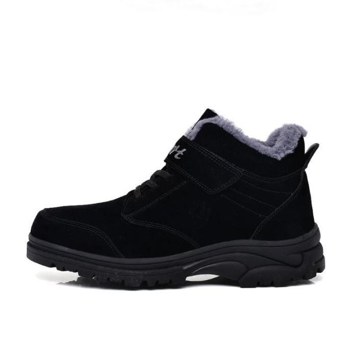 Chaussures de sport décontractées chaudes pour hommes d'hiver