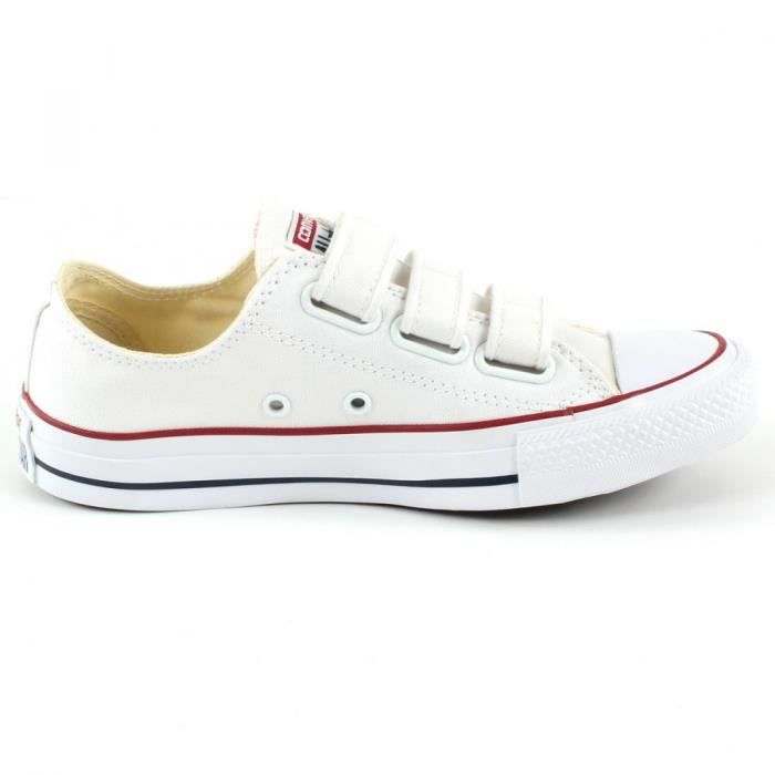 Baskets Converse BASKET CT ALL STAR OX WHITE VELCRO
