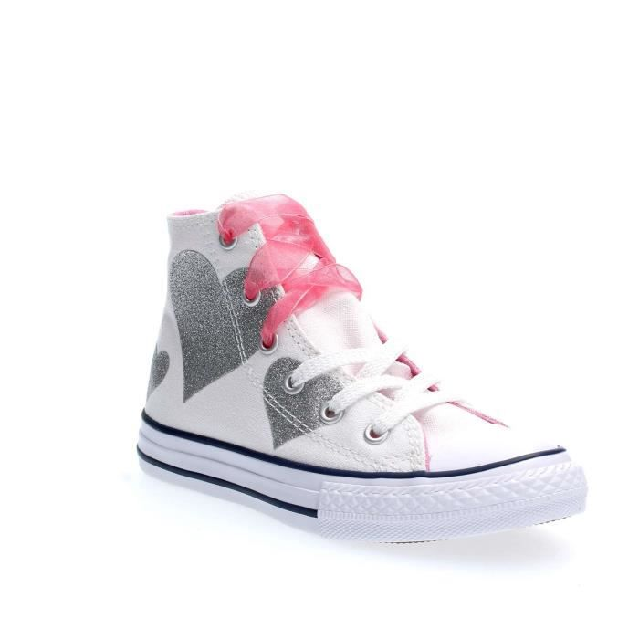 CONVERSE SNEAKERS fille WHITE, 32