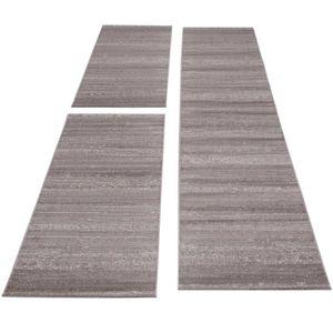 Tapis Design Moderne A Poil Court 3 D A Carreaux Ancien Noir Blanc