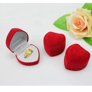 ECRIN - ETUI A BIJOUX 3 X nouveau Boite velours Coeurs Pour Cadeau Bague