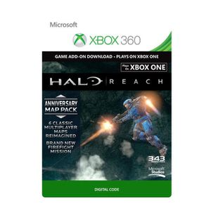 EXTENSION - CODE DLC Halo Reach : Anniversary Map Pack pour Xbox 36