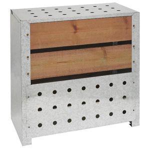 COMPOSTEUR - ACCESSOIRE Silo à compost acier et bois