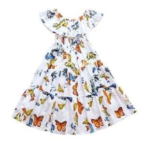 d1031a6e09f46 ROBE Robe Princesse Boheme Vetement Enfant Fille Ete 20