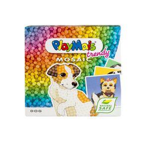 JEU DE MOSAIQUE PLAYMAIS Mosaic trendy dog