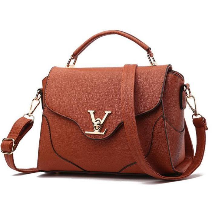 sac bandouliere sac cuir chaine Marque De Luxe Sac Marque De Luxe Femme Cuir Meilleure Qualité sac à main femmes 2017 Nouvelle Mode