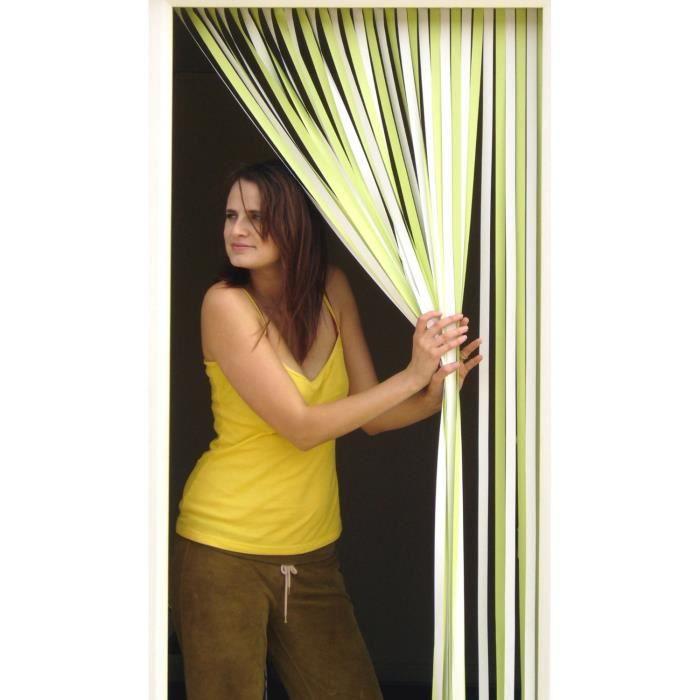 Rideau de porte lamelles achat vente rideau cdiscount - Rideau de porte exterieur plastique ...