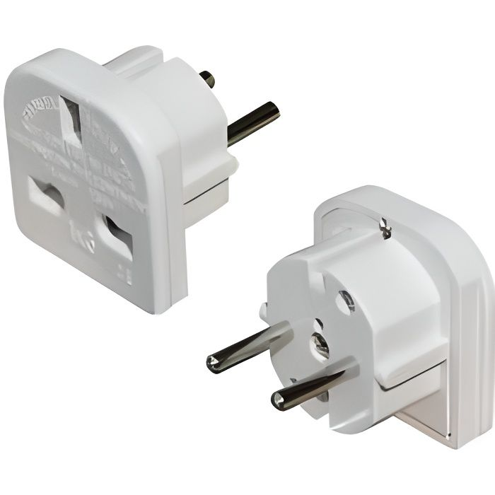 Adaptateur prise anglaise achat vente adaptateur prise - Adaptateur prise anglaise darty ...