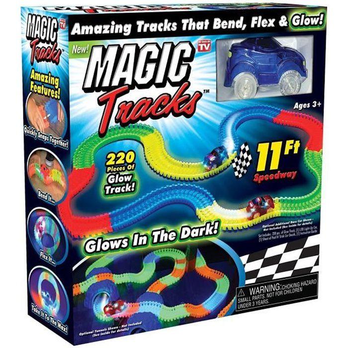 circuit voiture lumineux achat vente jeux et jouets pas chers. Black Bedroom Furniture Sets. Home Design Ideas