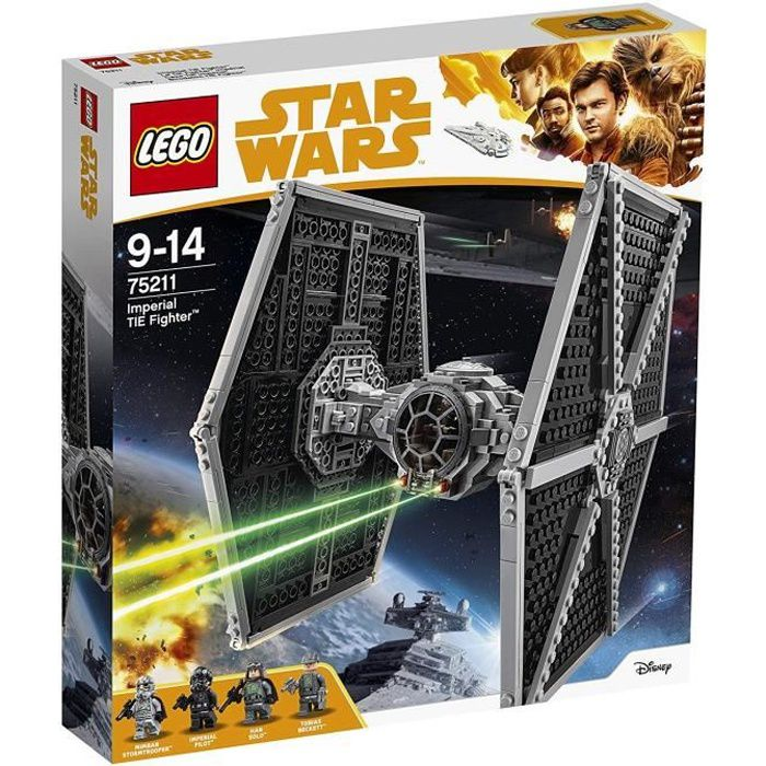 ASSEMBLAGE CONSTRUCTION LEGO® Star Wars™ 75211 Le Tie Fighter™ Impérial