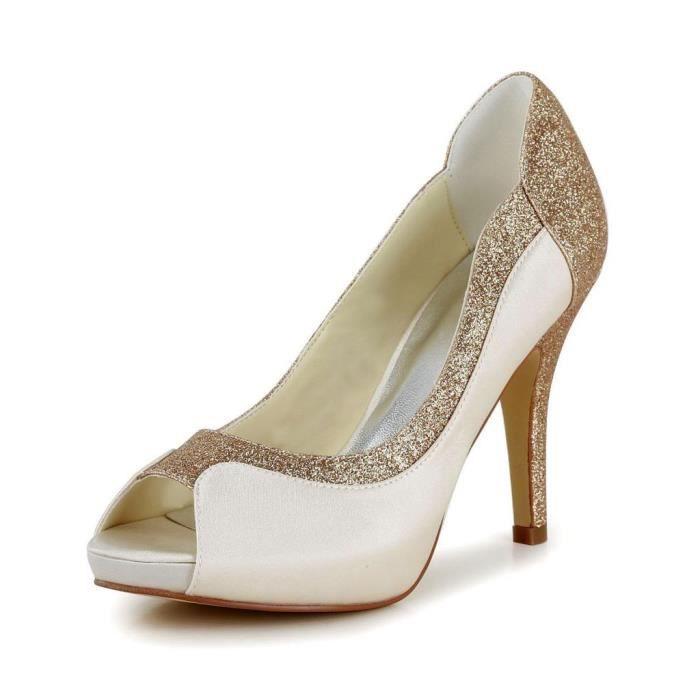 Jia Jia Wedding 37075 chaussures de mariée mariage Escarpins pour femme