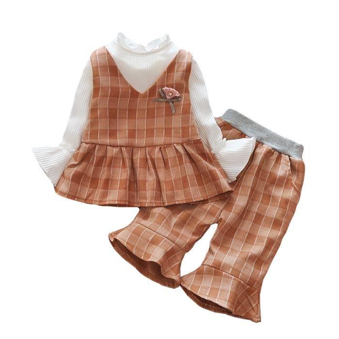 0d734da0fc951 ENSEMBLE DE VETEMENTS Pour bébé et Fille---Robe Fille et Gilet Fille ...