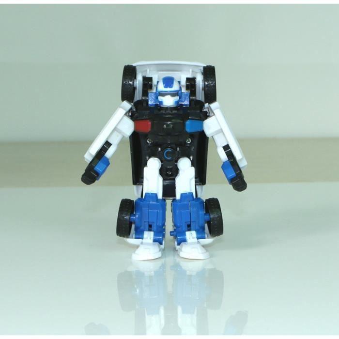 Jeunes Jouets Dessin Animé Corée Voiture Jouets Déformation Robot