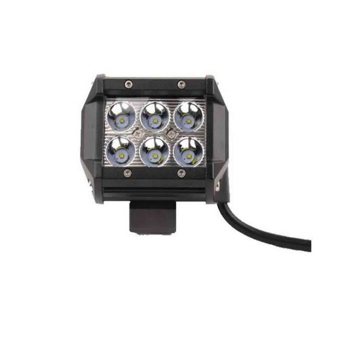 Longue 1pcs Étanche À 6 Phare De 18w Stoex® Led Travail Lampe 76bfgy