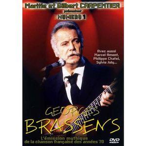 DVD MUSICAL DVD Numero 1 : georges brassens