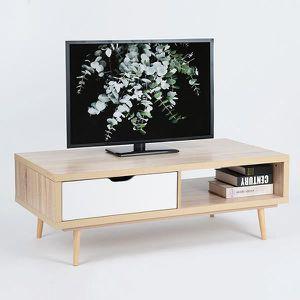 meuble tv 120cm achat vente pas cher. Black Bedroom Furniture Sets. Home Design Ideas