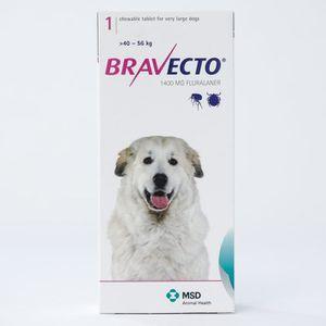 ANTIPARASITAIRE Bravecto 1400 mg pour chiens de très grande taille