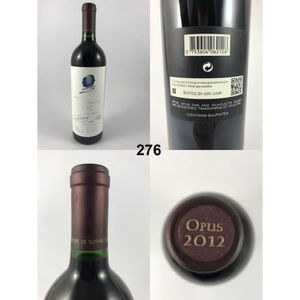 VIN ROUGE Opus One - Rothschild 2012, Napa Valley, Rouge