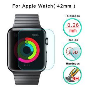 VITRE MONTRE CONNECTÉE 42mm pour Apple Watch film de protection en verre
