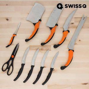 COUTEAU DE CUISINE  Set de couteaux de cuisine pro 10 PCS