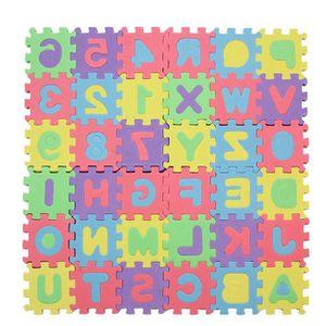 MULTIPRISE 1 Set Tapis Puzzle Numéros Éveil en Mousse Jouet J