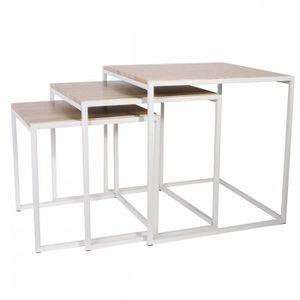 table basse industrielle achat vente table basse industriel pas cher cdiscount. Black Bedroom Furniture Sets. Home Design Ideas