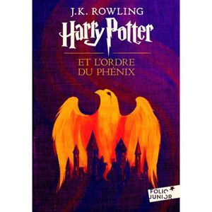 Livre 9 -12 ANS Harry Potter et l'Ordre du Phénix