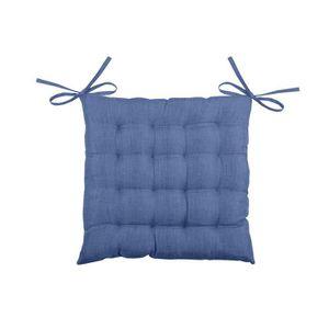 Blue 1 pack Siège Pad Coussins Fermeture Velcro salle à manger chaises de cuisine Soft