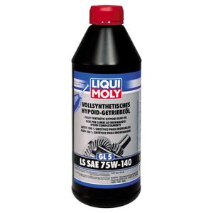 HUILE TRANSMISSION Huile pour transmissions Liqui Moly (GL5) LS SAE 7