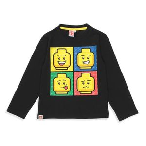 T-SHIRT LEGO T-shirt Fantaisie Noir Enfant Garçon