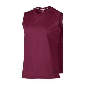 T-SHIRT W NSW - T-shirt - rouge