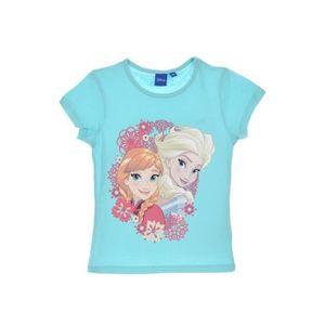 T-SHIRT Tee Shirt Reine des Neiges Bleu