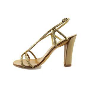 SANDALE - NU-PIEDS LOLA CRUZ Chaussures Femme Sandale  Doré AG309