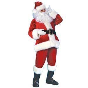 6056e47ee2196 DÉGUISEMENT - PANOPLIE EOZY Set 7pièces Costume Déguisement Père Noël Hom.  ‹›