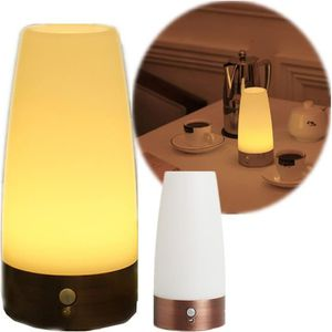 LAMPE A POSER NBEUFU Retro Lampe Nuit Sans Fil Capteur Controle
