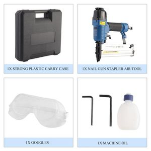 AGRAFEUSE 2 EN 1 Kit agrafeuse cloueuse pneumatique pour com