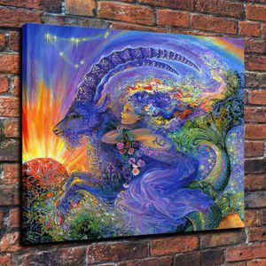 TABLEAU - TOILE Home Décor Peinture à l'huile Josephine Wall Capri