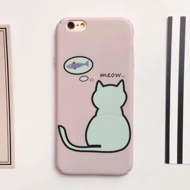 coque iphone 6 chat rose