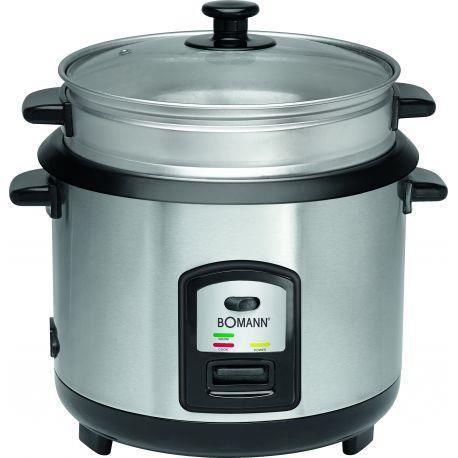 CUISEUR À VAPEUR Cuiseur à riz et cuiseur vapeur en acier inoxydabl