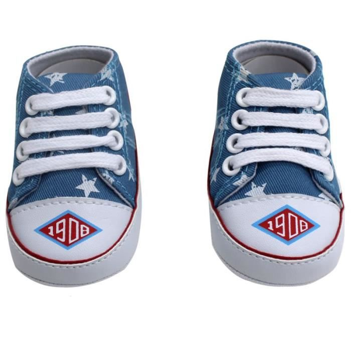 Taille 19 Toile Basket Bebe chaussure FKJc3lT1