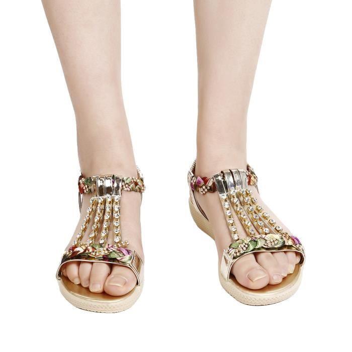 Sandales à talons en forme de strass style iR3BdJtRK