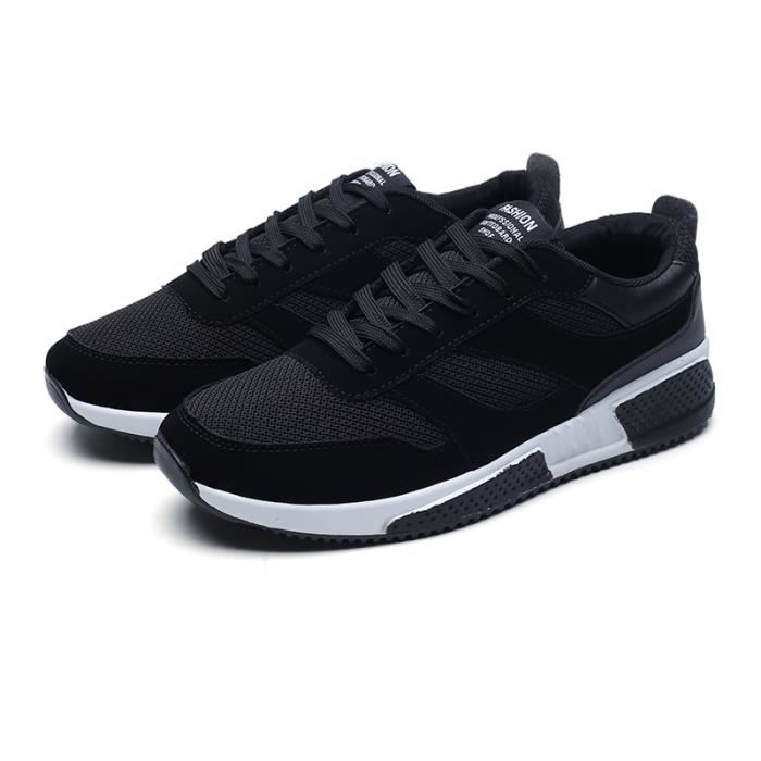 Baskets Homme Chaussures de Course Masculines Respirante Chaussures