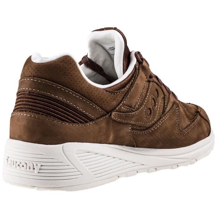 chaussures multisport Homme chaud Vintage Shoes en cuir à lacets de conduite occasionnels d'hiver d'homme marron taille10 PkDkGG