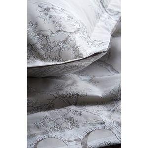 linge de lit toile de jouy achat vente pas cher. Black Bedroom Furniture Sets. Home Design Ideas
