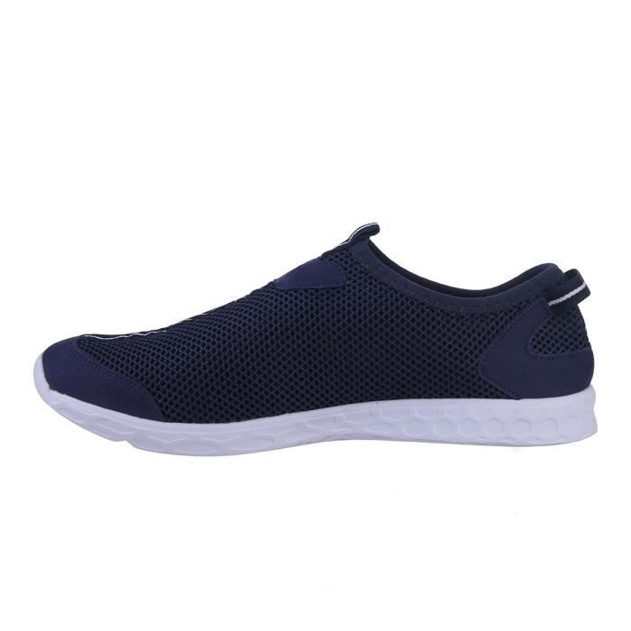 Léger séchage rapide Mesh Aqua Slip-on Chaussures d'eau DTOML Taille-42 1-2