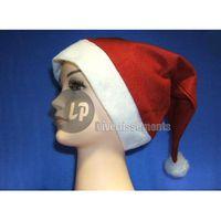 CHAPEAU - PERRUQUE bonnet de noël 1er prix avec pompon adulte