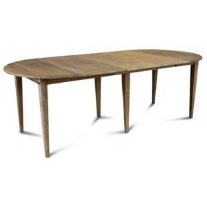 TABLE À MANGER SEULE Table Ronde Fuseau et Chêne