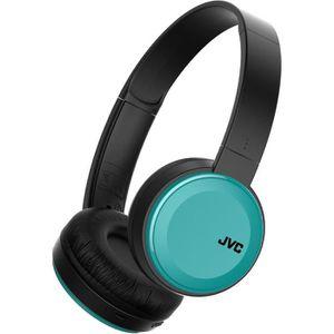 CASQUE - ÉCOUTEURS JVCHAS30BTAE Casque Bluetooth sans fil Bleu