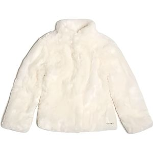 MANTEAU - CABAN Manteaux Guess Fourrure Synthetique Blanc